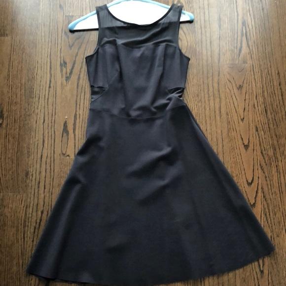 Bailey 44 Dresses Black Dress With Mesh Cutouts Poshmark